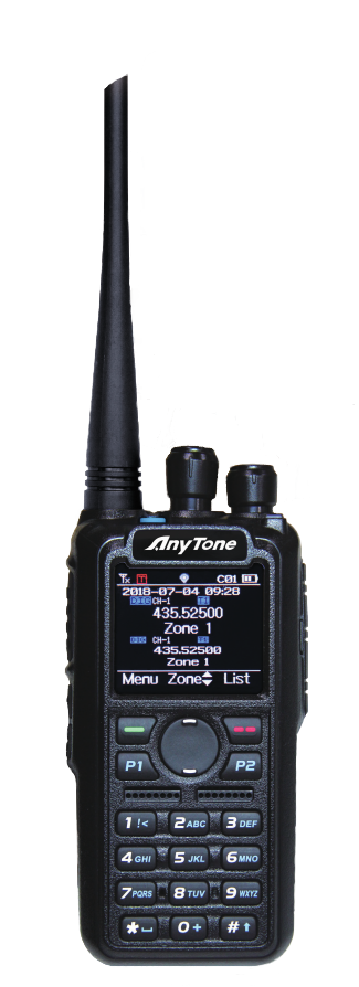 ANYTONE AT-D878UV GPS + BLUETOOTH DMR DUALBAND