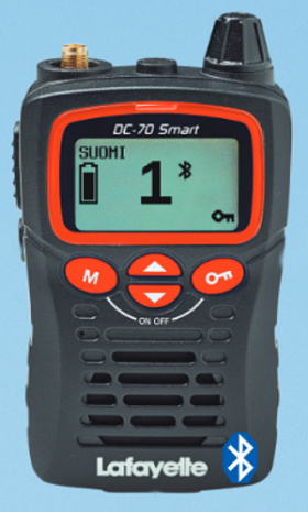 LAFAYETTE DC-70 BT SMART BLUETOOTH RHA68 OPTIMOITU 1-PAKETTI