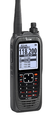 ICOM IC-A25CE AIR ILMALU VHF